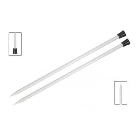 Image of   KnitPro Basix Aluminium Strikkepinde / Jumperpinde Aluminium 25cm 2,00