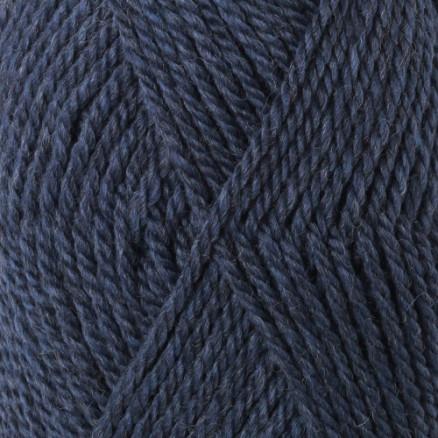Drops Alaska Garn Unicolor 37 Grå/Blå thumbnail
