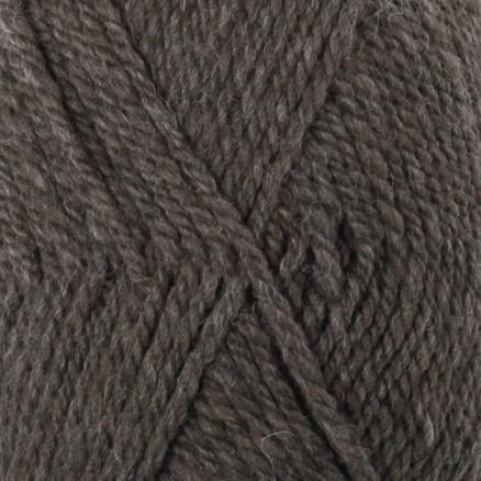 Drops Alaska Garn Mix 50 Mørkebrun Meleret thumbnail
