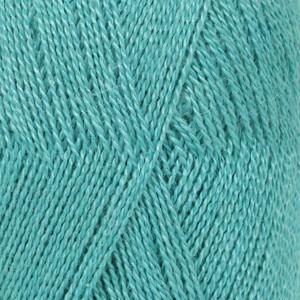 Garnstudio - drops Drops lace garn unicolor 6410 turkis 50g fra rito.dk