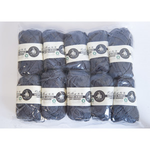 Mayflower Cotton 8/8 Økologisk Garn 2. sortering Unicolor 642 Grå - 10 stk