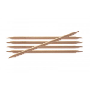 Image of   KnitPro Basix Birch Strømpepinde Birk 20cm 3,75mm / 7.9in US5