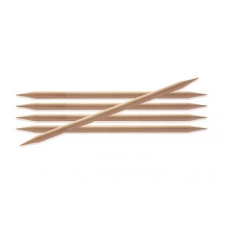 Knitpro Basix Birch Strømpepinde Birk 20cm 4,00mm / 7.9in Us6