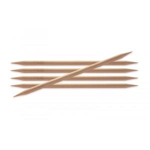Image of   KnitPro Basix Birch Strømpepinde Birk 20cm 5,00mm / 7.9in US8