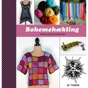 Bohemehækling - Bog af Janne Kjeldal Andreasen