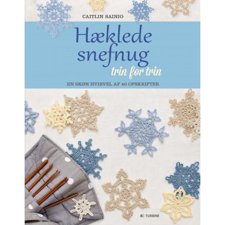 Image of   Hæklede snefnug trin for trin - Bog af Caitlin Sainio