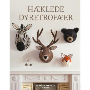 Hæklede dyretrofæer - Bog af Vanessa Mooncie