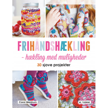 Image of   Frihåndshækling - Bog af Carol Meldrum