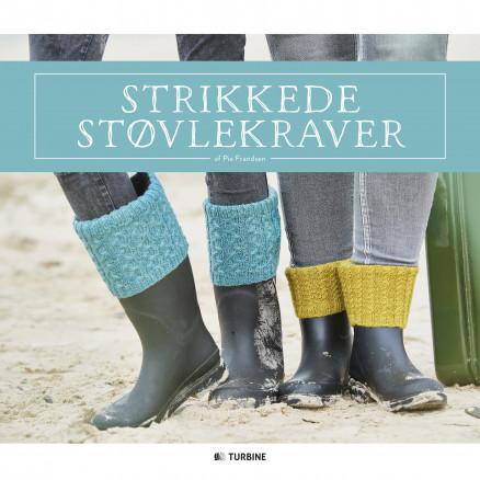 Image of   Strikkede støvlekraver - Bog af Pia Frandsen