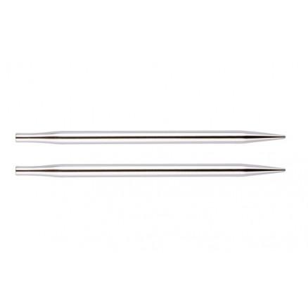 KnitPro Nova Metal Udskiftelige Rundpinde Messing 13cm 3,50mm / US4 thumbnail