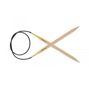 Image of   KnitPro Basix Birch Rundpinde Birk 100cm 10,00mm / 39.4in US15