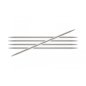 KnitPro Nova Metal Strømpepinde Messing 20cm 8,00mm / 7.9in US11