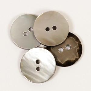 Månestråle Sølv/Hvid 20mm 614 - 1 stk