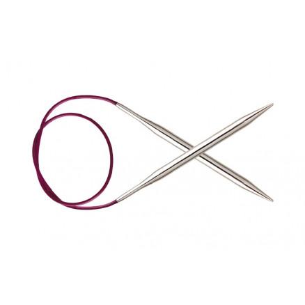 KnitPro Nova Metal Rundpinde Messing 60cm 7,00mm / 23.6in US10¾ thumbnail