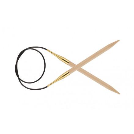 Knitpro Basix Birch Rundpinde Birk 60cm 6,00mm / 23.6in Us10