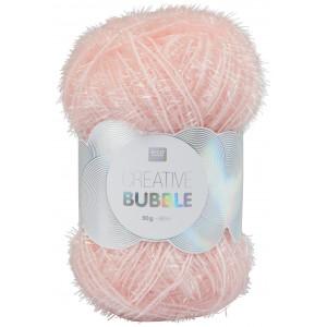 Rico Creative Bubble Garn Unicolor 003 Rosa