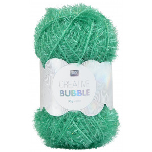 Rico Creative Bubble Garn Unicolor 009 Grøn