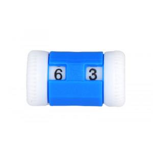 Knitpro Omgangstæller / Pindetæller Blå 2-5mm - 1 stk