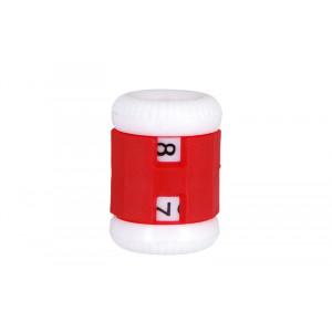 Knitpro Omgangstæller / Pindetæller Rød 4,50-6,50mm - 1 stk