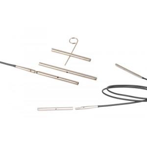 Image of   KnitPro Kabelovergange + Strammenøgle til udskiftelige rundpinde - 3 s