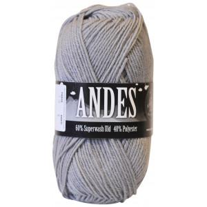 Mayflower Andes Garn Unicolor 40 Mellemgrå