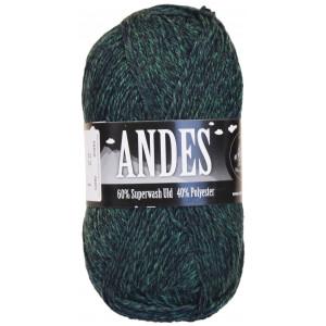 Mayflower Andes Garn Mix 22 Grøn