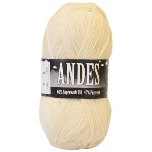 Mayflower Andes Garn Unicolor 01 Natur