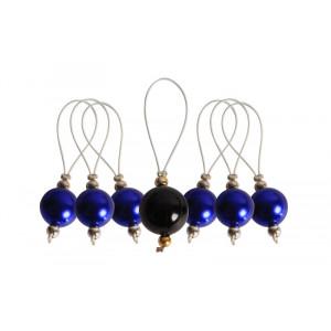 Image of   KnitPro Zooni Markeringsringe Bluebell - 7 stk