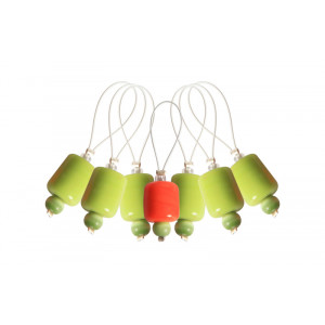 Image of   KnitPro Zooni Markeringsringe Holly - 7 stk
