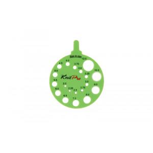 KnitPro Strikkepindemåler Envy 2-12mm (0-17 US)