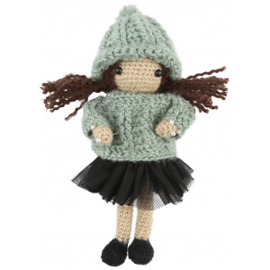 Go handmade Hæklekit Dukken Paula 20 cm