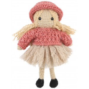 Go handmade Hæklekit Dukken Josefine 20 cm