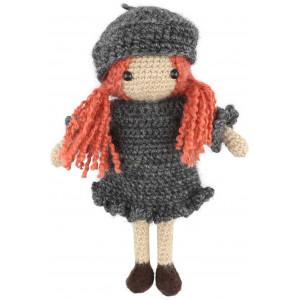 Go handmade Hæklekit Dukken Izabela 20 cm