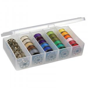 ArtBin Trådboks / Trådopbevaring til sytråd 30 spoler Transparent 15x8