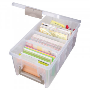 ArtBin Plastboks til tilbehør Transparent 37,5x20x16,5cm