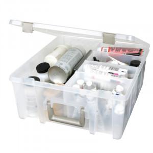 Artbin – Artbin super satchel plastboks til tilbehør transparent 37,5x36x16cm fra rito.dk