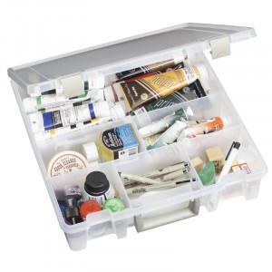 Artbin – Artbin super satchel plastboks med 6 rum transparent 37,5x36x9cm på rito.dk