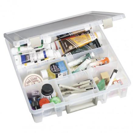 Image of ArtBin Super Satchel Plastboks med 6 rum Transparent 37,5x36x9cm