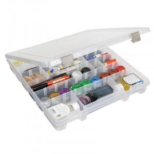 ArtBin Super Satchel Plastboks til knapper og tilbehør Transparent 37,5x36x5,5cm