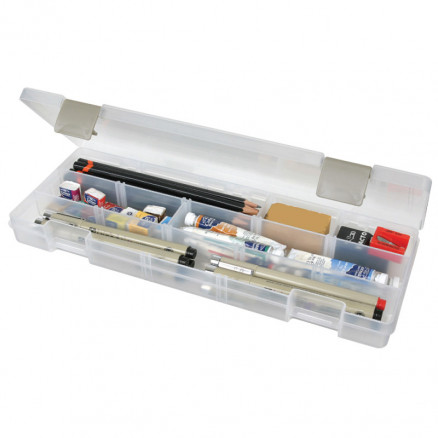 Image of ArtBin Plastboks til knapper og tilbehør Transparent 31,5x11,5x3,5cm