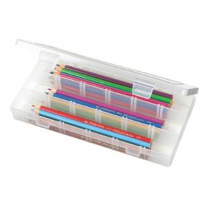 ArtBin Plastboks til knapper og tilbehør Transparent 23x11,5x3,5cm