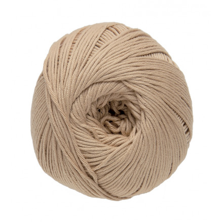 Image of   DMC Natura Just Cotton Garn Unicolor 37 Lysebrun