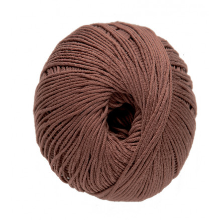 Image of   DMC Natura Just Cotton Garn Unicolor 41 Brun