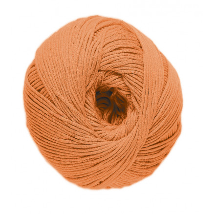 Image of   DMC Natura Just Cotton Garn Unicolor 47 Orange