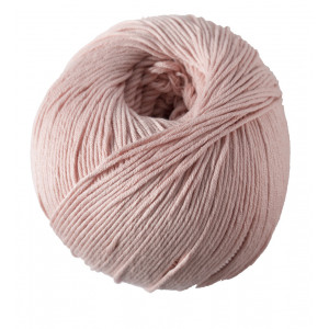 DMC Natura Just Cotton Garn Unicolor 82 Støvet Rosa