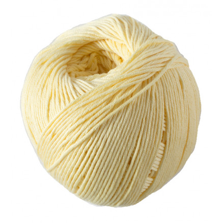 Image of   DMC Natura Just Cotton Garn Unicolor 83 Vaniliegul