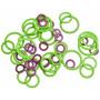KnitPro Markeringsringe Runde 3 størrelser - 50 stk