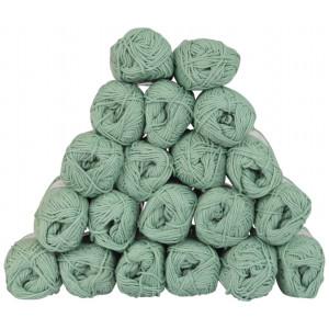 Drops Loves You 8 Garnpakke Unicolor 09 Mint - 20 stk