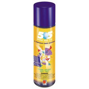 Midlertidig Spraylim / Limspray / Tekstillim til patchwork / stof 250ml