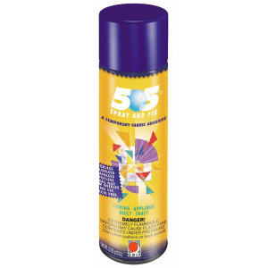 505 Midlertidig Spraylim / Limspray / Tekstillim 500ml til patchwork, stof
